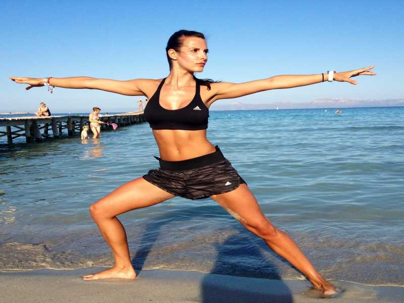How to tone your body and lose weight with yoga