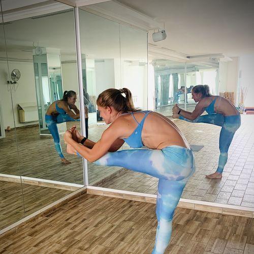 Bikram joga - Pozície v stoji, 10.10.