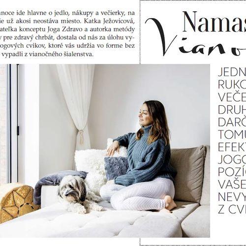Woman - Namaste Vianoce :)